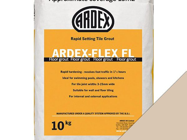 Ardex FL (Floor) Grout Gentle Blush (10kg)