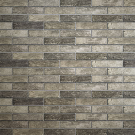 Broadway Brick Slips Grey 60x250