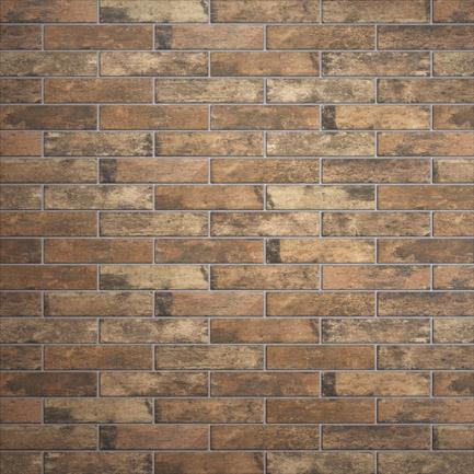 Broadway Brick Slips Umber 60x250