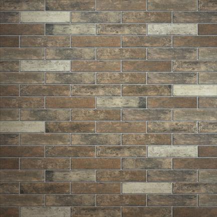 Broadway Brick Slips Rust 60x250
