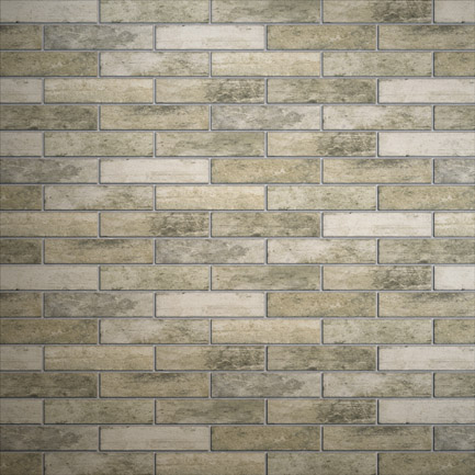 Broadway Brick Slips Smoke 60x250