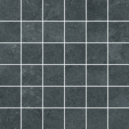 Mirage Dark Grey Mosaic 300x300x10mm