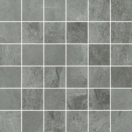 Mirage Mid Grey Mosaic 300x300x10mm