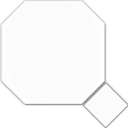 Octagon Classic White 316x316 & White Taco