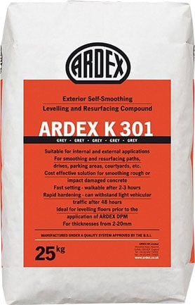 Ardex K301 Exterior Levelling Compound