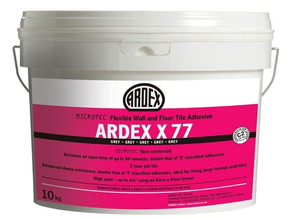 Ardex X77 Microtec Flexi Grey 10KG Bucket