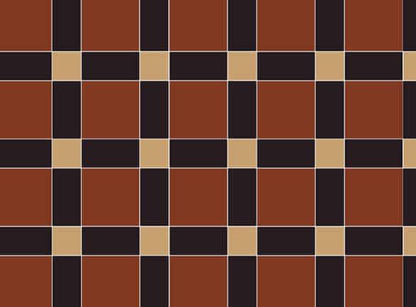 Olde English Lattice Pattern Floor per m2