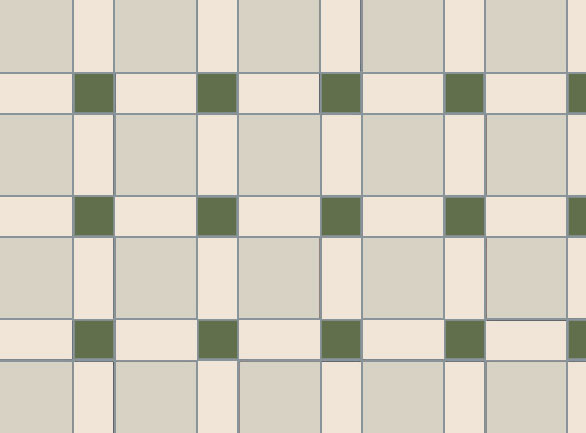 Olde English Hove Pattern Floor per m2