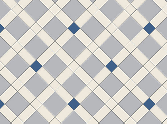 Olde English Diagonal Pattern  Floor per m2