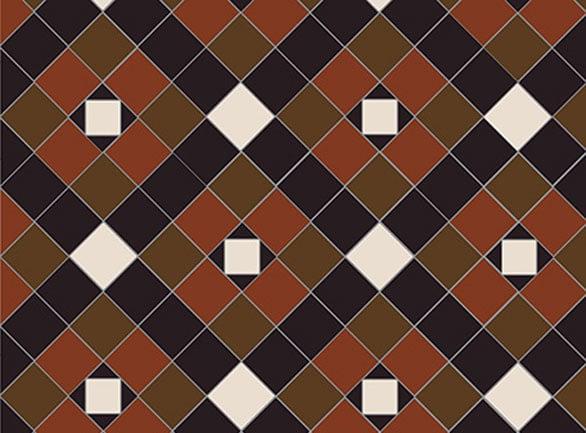 Olde English Heritage Pattern Floor per m2