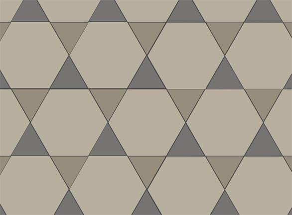Olde English Star Pattern Floor per m2