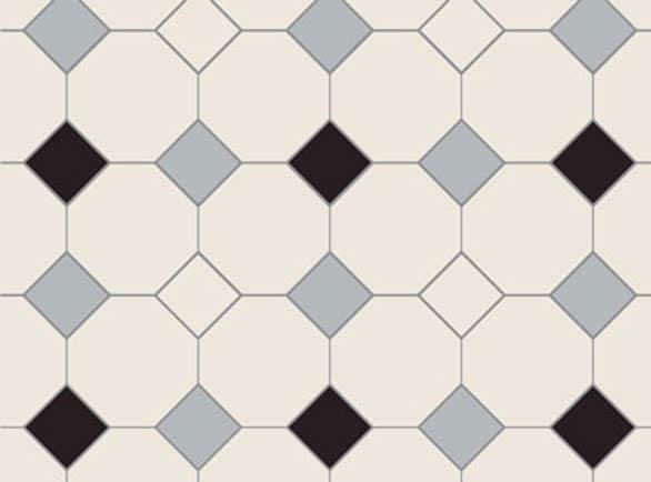 Olde English Roman Pattern Floor per m2