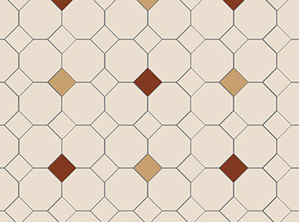Olde English Stagger Pattern Floor per m2