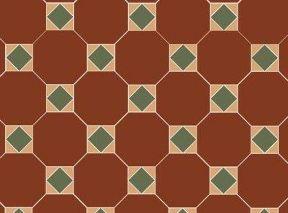 Olde English hichester Pattern Floor per m2