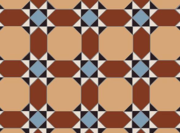 Olde English Victoria Pattern per m2