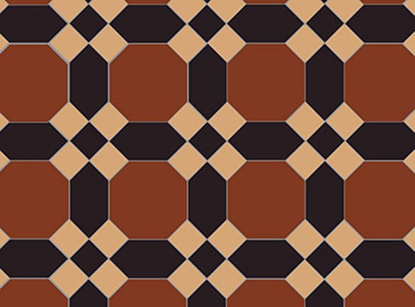 Olde English Museum Pattern Floor per m2