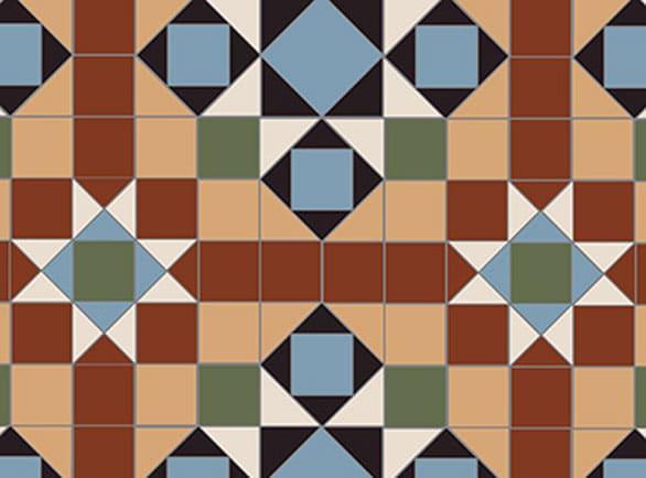 Olde English Complete Pattern Floor per m2
