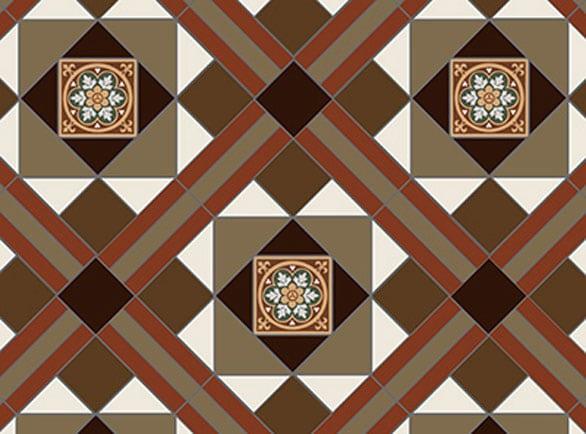 Olde English Stevenson Pattern Floor per m2