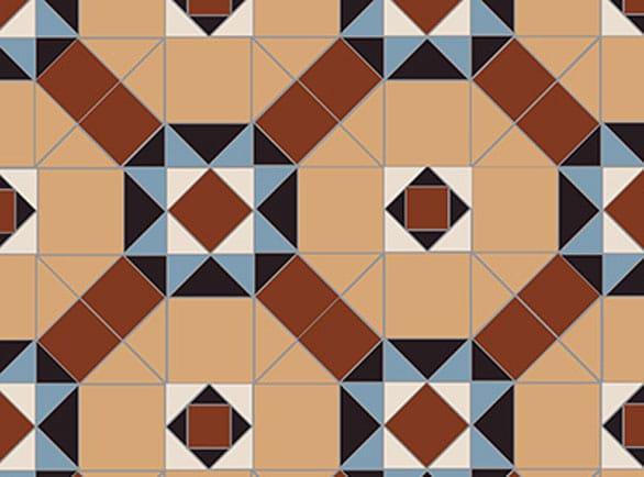 Olde English Jack Pattern Floor per m2