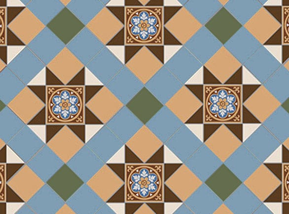 Olde English Albatross Pattern Floor per m2