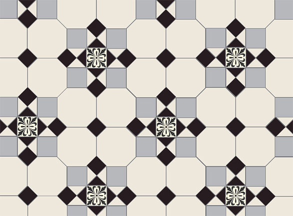 Olde English Cardinal Pattern Floor per m2