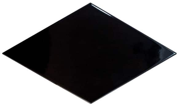 Rhombus Black Wall Tile