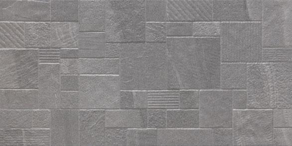 Mineral Dark Grey Decor Wall & Floor Tile