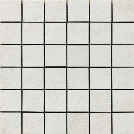 Discovery White Smooth Mosaic 300x300