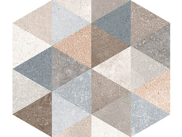 Hexagon Rift Fingal Pattern  230x266