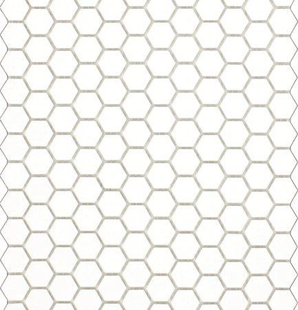 Matt White Hexagon Mosaic