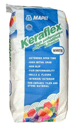 Mapei Keraflex White 20 kg Slow Set