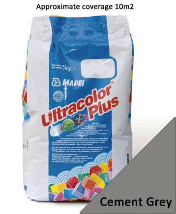 Mapei Ultracolour Plus Cement Grey (113) 5kg