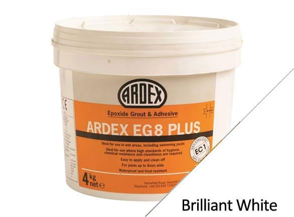 Ardex EG8 Epoxy Plus Grout White 4Kg