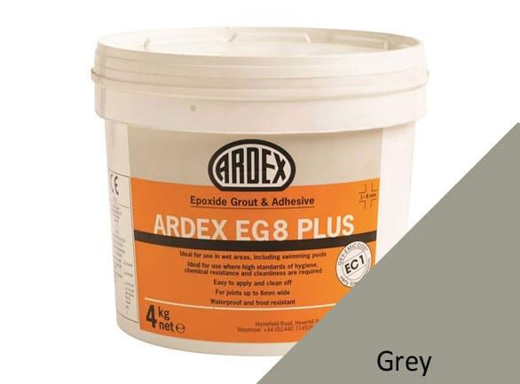 Ardex EG8 Epoxy Plus Grout Grey 4Kg