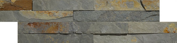 Geo Split Face Multi Colour 100x360 Wall Tile