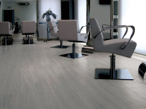 Chrome Wood Porcelain Floor Tiles