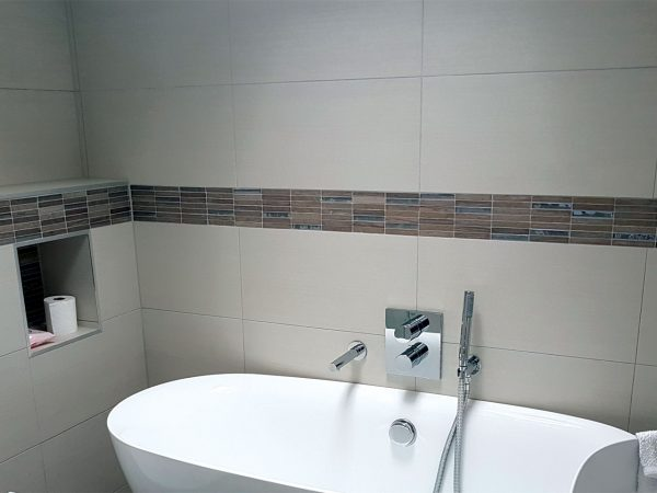 Chrome Wood Porcelain Wall Tiles