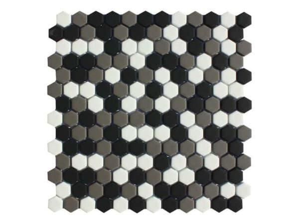 Copenhagen Canada Mix Hexagon Mosaic