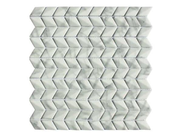 Copenhagen Carrara Diamond Mosaic