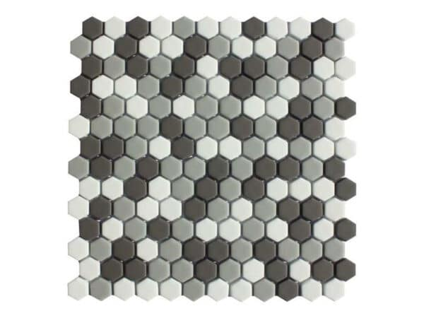 Copenhagen Yukon Hexagon Mosaic
