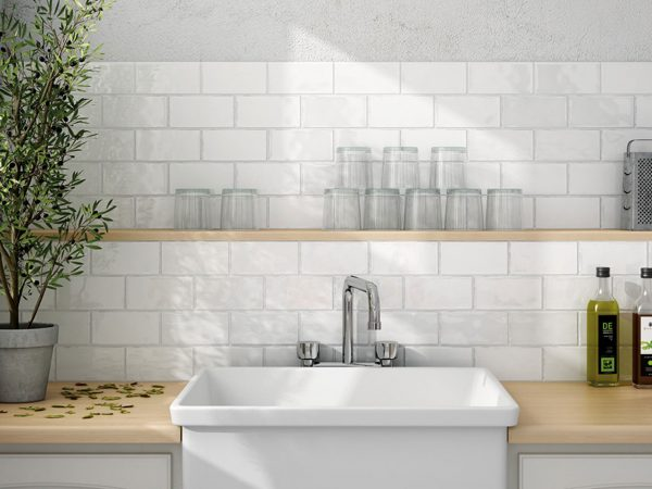 Crackle Glaze Brick Wall Tiles