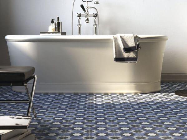 Deco Fleur Porcelain Floor Tiles