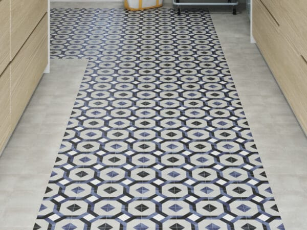 Deco Fleur Kitchen Floor Tiles