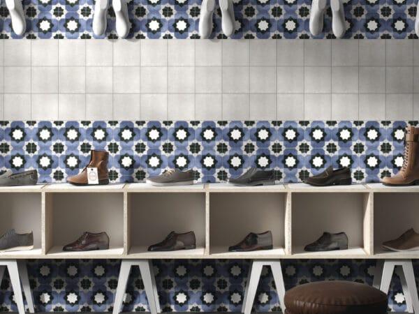 Deco Fleur Porcelain Wall Tiles