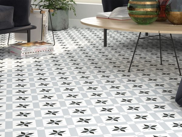 Deco Patterned Floor Tiles