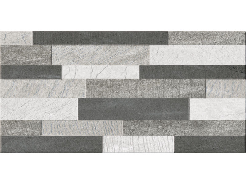 feature grey feature wall tiles