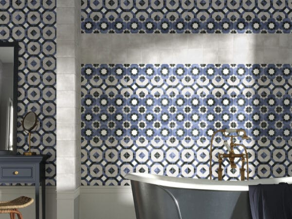Deco Fleur Bathroom Wall Tiles