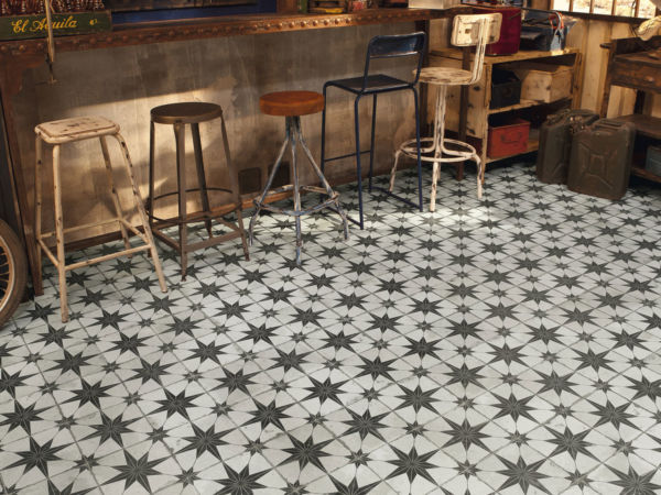 FS Star Patterned Floor Tiles