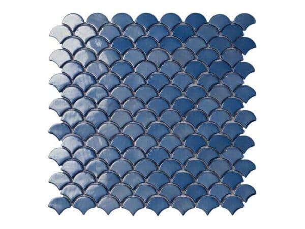 Galapagos Dark Blue Glass Mosaic