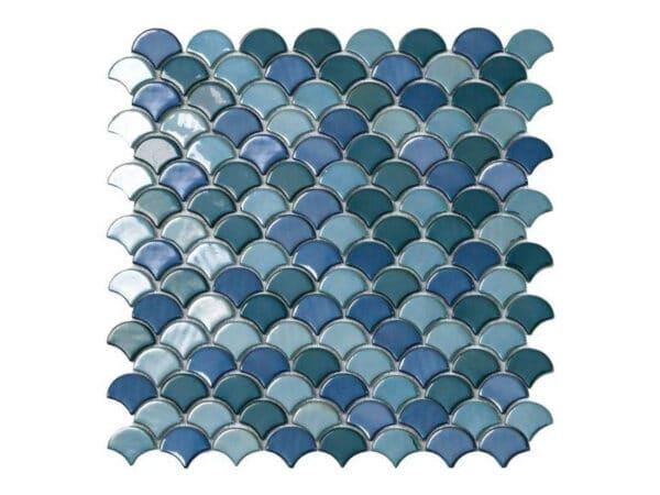 Galapagos Green Mix Glass Mosaic